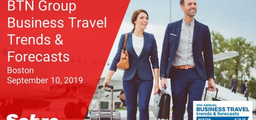 Sabre Sponsors 4th Annual Business Travel Trends & Forecasts in Boston