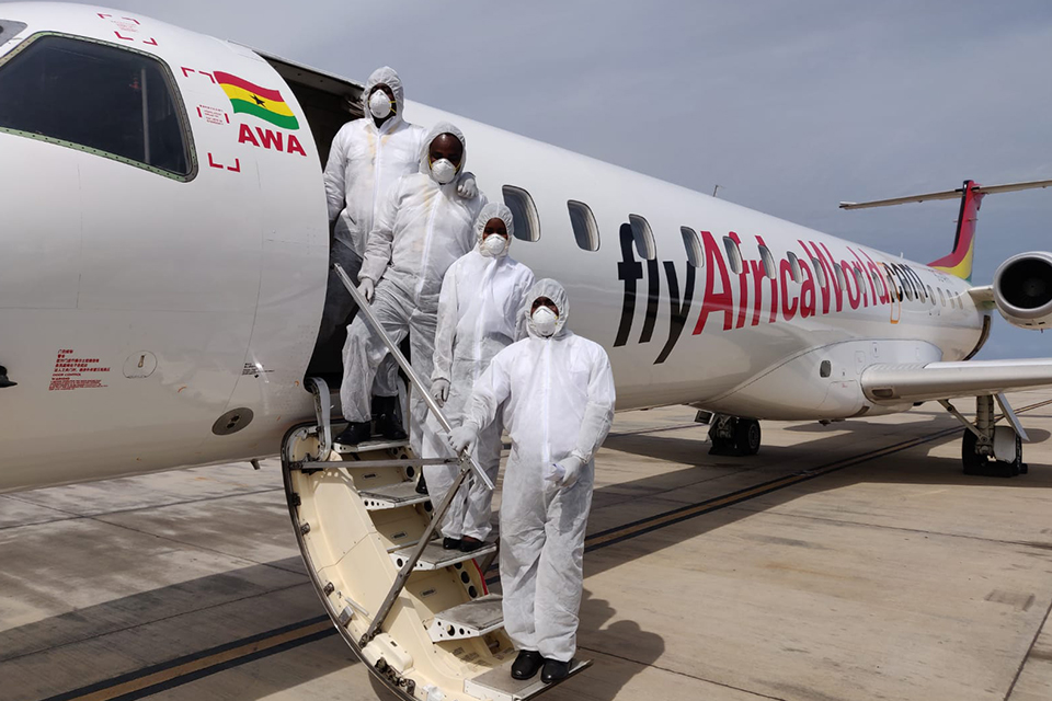 Africa World Airlines, Sabre West Africa